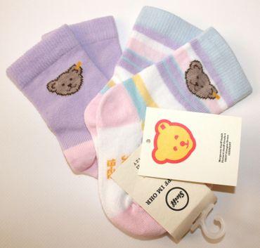 STEIFF® Mädchen 2er-Pack Set Socken Söckchen  – Bild 1