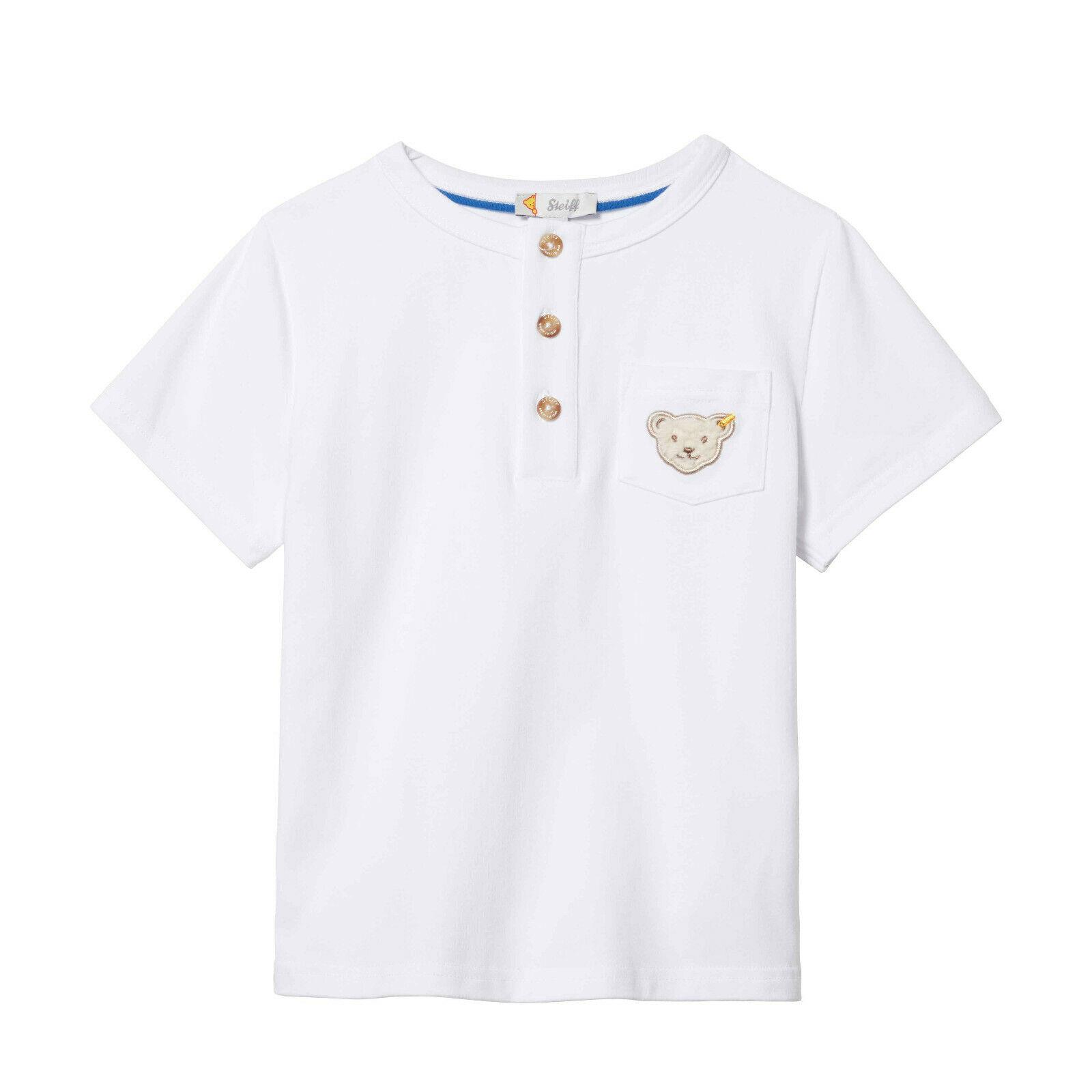wei/ß Trikot Look 56-86 Kroatien Baby EM T-Shirt Gr