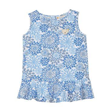 STEIFF® Mädchen Bluse Blumenprint – Bild 1