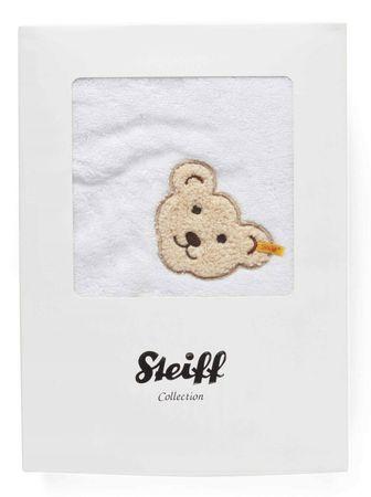 STEIFF® Kapuzen-Badetuch im Geschenkbox Weiß – Bild 1