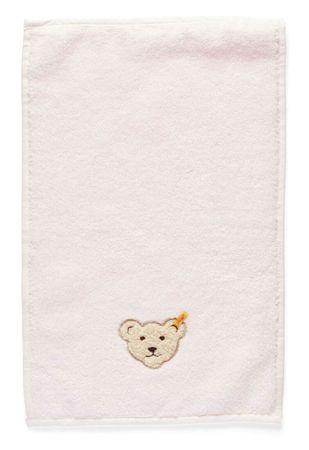 STEIFF® kleines Mädchen Handtuch Bär Rosa  – Bild 1