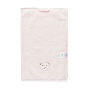 STEIFF® kleines Mädchen Handtuch Bär Rosa  – Bild 2