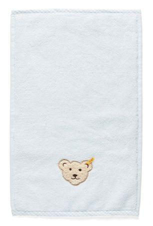 STEIFF® kleines Jungen Handtuch Bär Hellblau  – Bild 1
