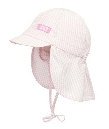 DÖLL® Baby Mädchen Sonnenhut mit Nackenschutz  – Bild 1