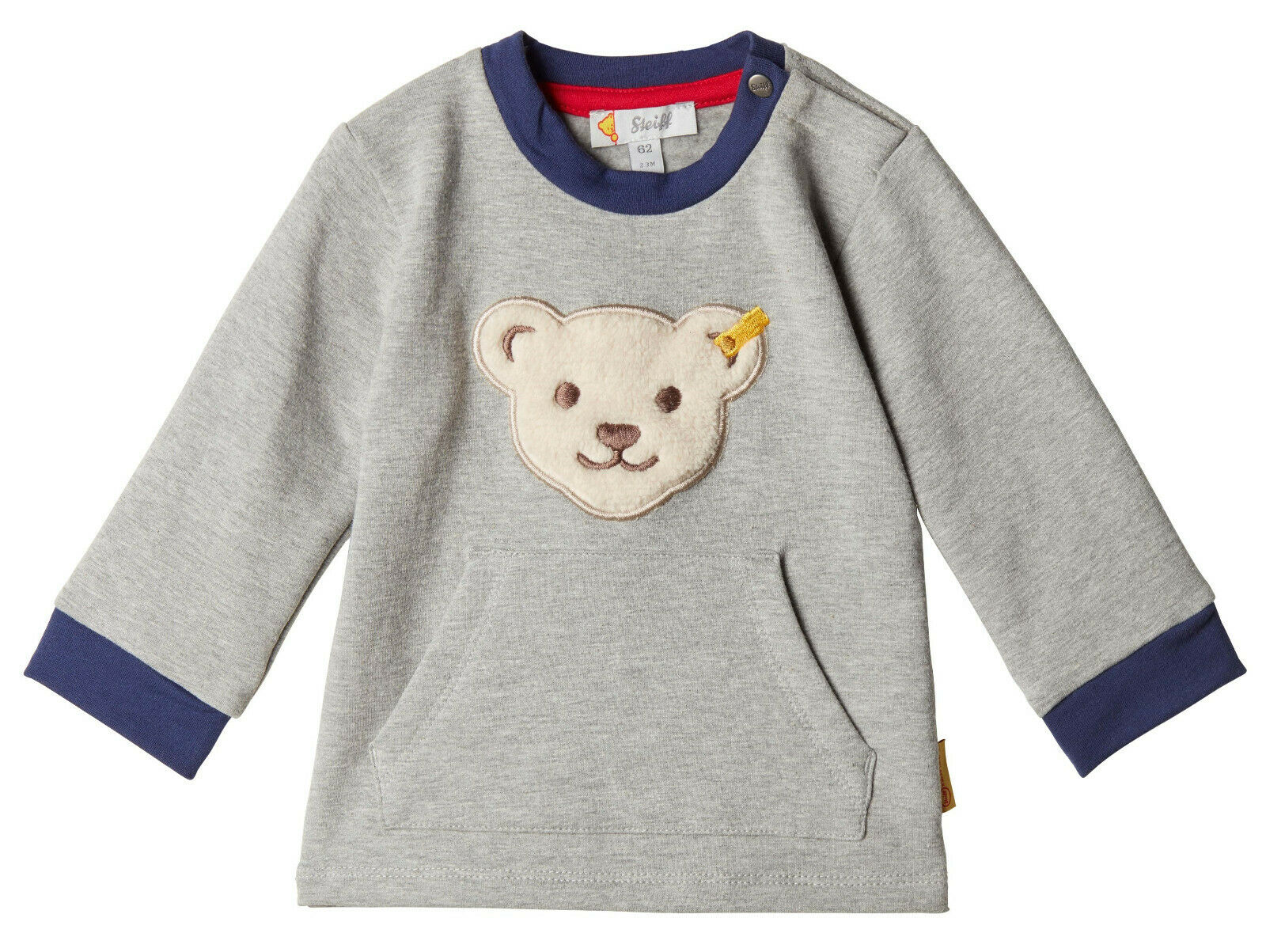 STEIFF® Baby Jungen Sweatshirt Bär