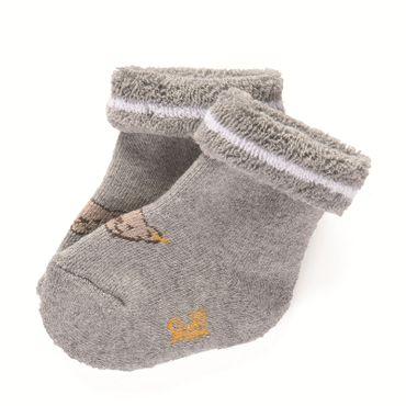 STEIFF® Baby Frotte Socken Söckchen Grau