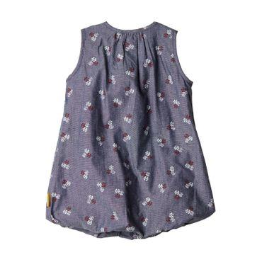 STEIFF® Baby Mädchen Kleid Jeans-Optik – Bild 2