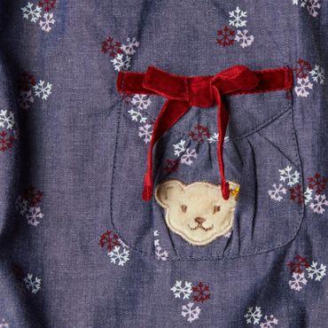 STEIFF® Baby Mädchen Kleid Jeans-Optik – Bild 3