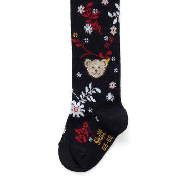 STEIFF® Mädchen Teddy Strumpfhose Blumenprint – Bild 2