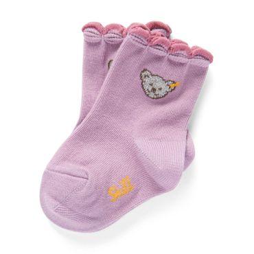 STEIFF® Mädchen Socken Glitzerbärchen  – Bild 1