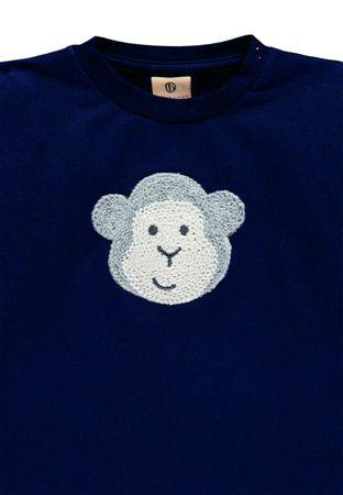 bellybutton® Mother Nature & Me Mädchen Sweatshirt Quietsch Affe – Bild 3