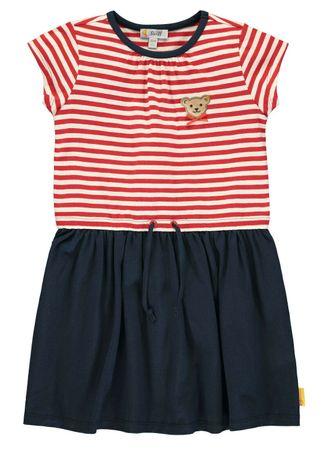 STEIFF® Mädchen Shirt-Kleid Ringel – Bild 1