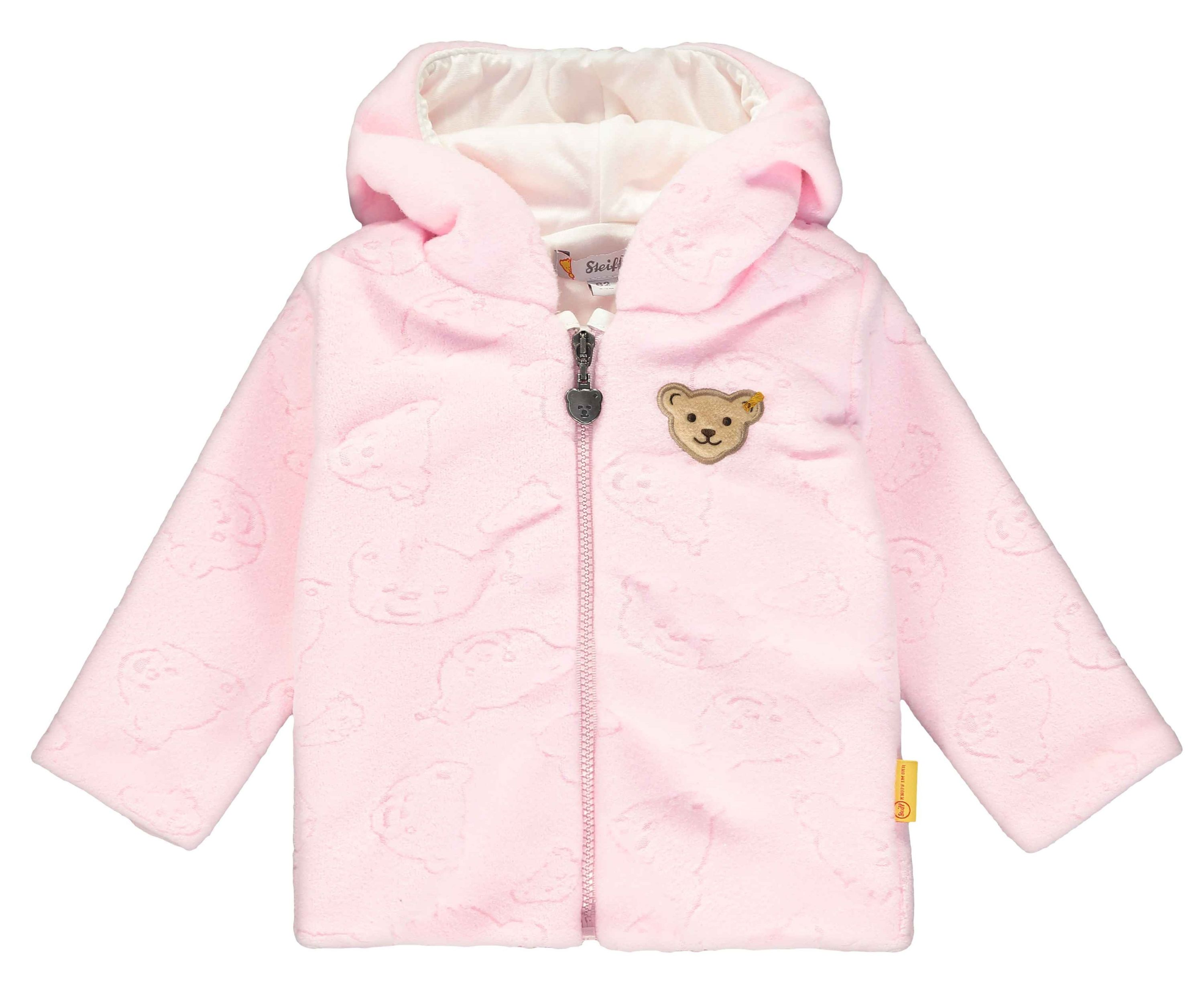 Steiff Baby-Jungen Fleece Jacket Sweatjacke