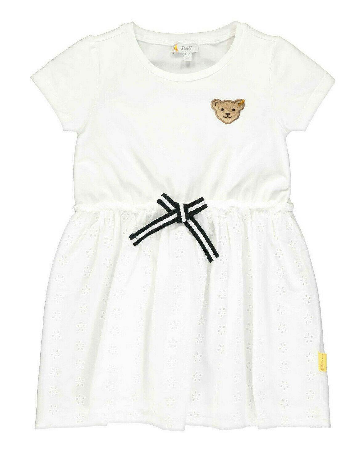 STEIFF® Mädchen festliches Kleid Lochstickerei  KIDS DREAMS- Kindersachen  die Spaß machen!