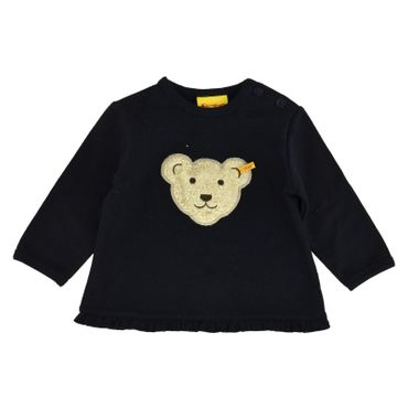 STEIFF® Mädchen Sweatshirt Shirt 'Quietsch Bär'
