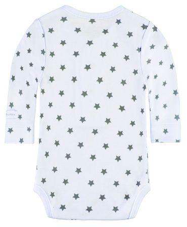 bellybutton® Baby langarm Body Sterne Hellblau – Bild 2