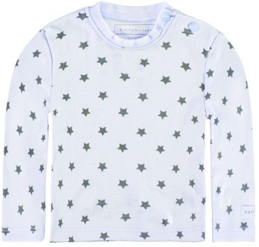 bellybutton® Baby Langarmshirt Shirt Sterne Hellblau