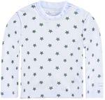 bellybutton® Baby Langarmshirt Shirt Sterne Hellblau 001