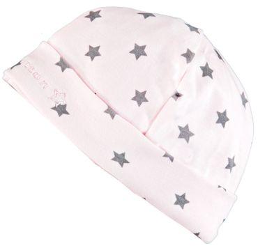 bellybutton® Baby Mädchen Mütze Sterne Rosa