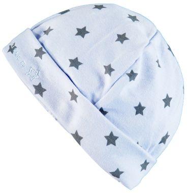 bellybutton® Baby Mütze Sterne Hellblau  – Bild 1