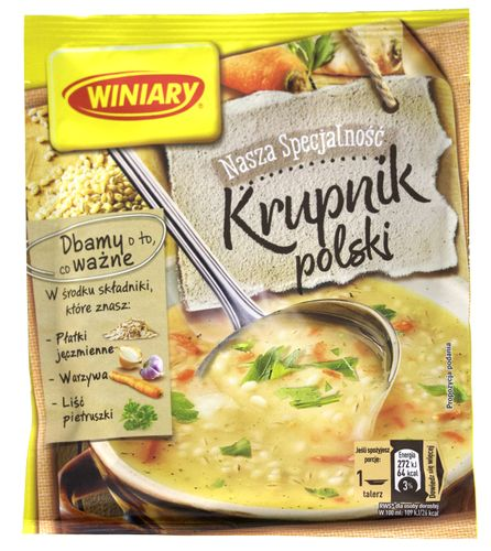 Winiary - Graupensuppe