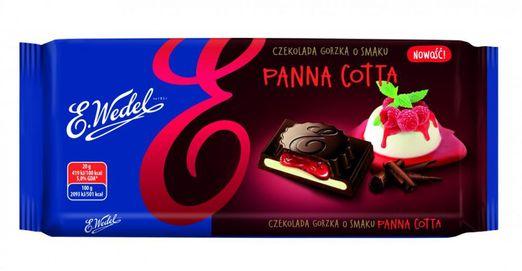 E. Wedel Bitterschokolade mit PannaCotta 100g