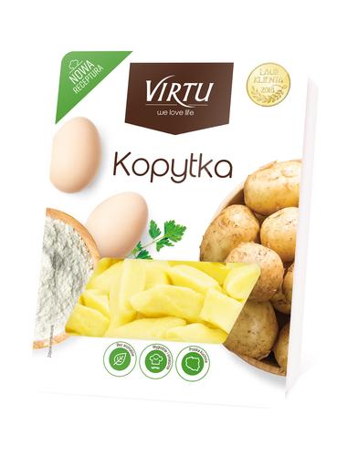 Virtu Polnische Kartoffelklöße Kopytka 400g