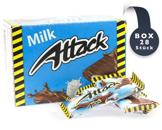Waffel Attack mit Milchgeschmack (PAK 30gx28)