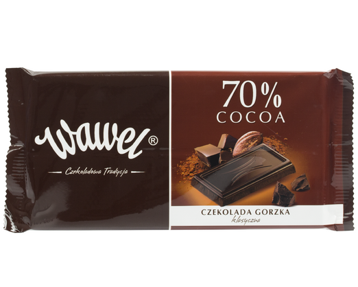 E. Wedel Bitterschokolade klassisch 70% Cocoa 100g