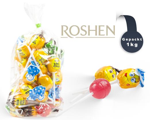 Roshen Lollipops mit Cocktail Geschmack 1kg
