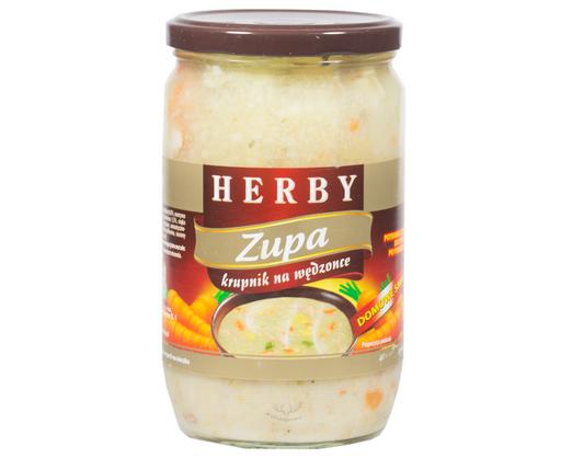 Herby Graupensuppe mit Räuchergeschmack 680g