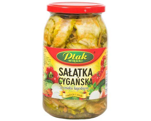 Zigeuener Salat mit milden Geschmack 880g von Ptak