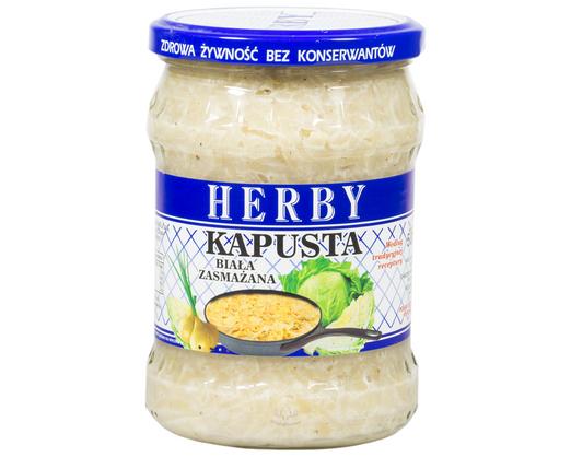 Weißkohl gebraten 500g von Herby