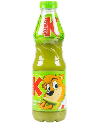 Kubus Getränk. Karotte - Grüne Banane - Apfel - Kiwi 900