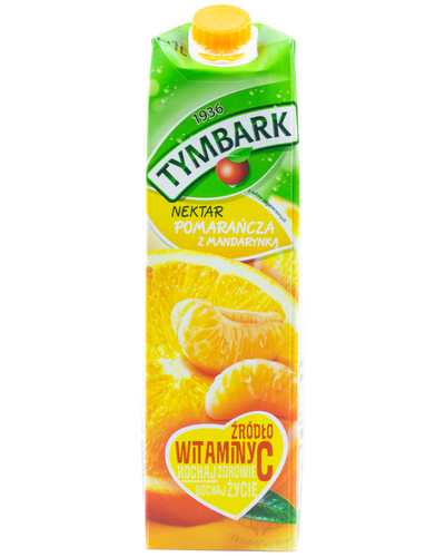 Tymbark Nektar Orange mit Mandarine 1L