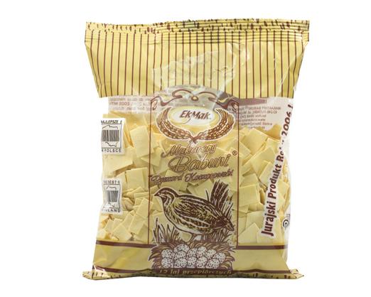 Eko-Mak Makaron Babuni  Pasta Nudelplättchen mit 12 Wachteleier Makarony Babuni  250g