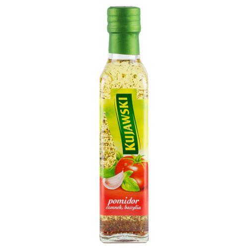 Kujawski Rapsöl mit Tomaten, Knoblauch und Basilikum 250ml