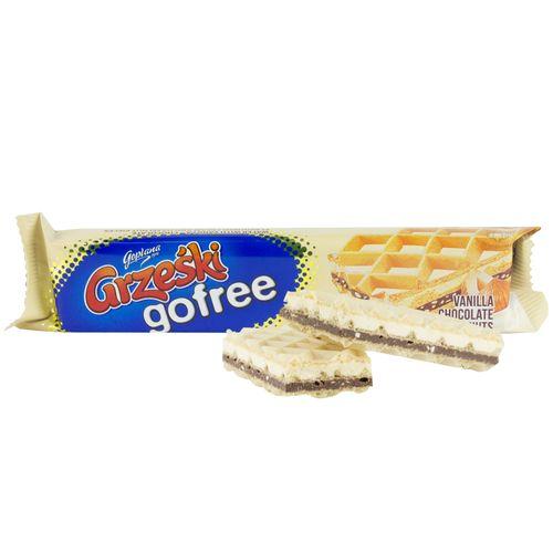 Goplana Grzeski gofree mit Vanillegeschmack und Haselnüsse 33g