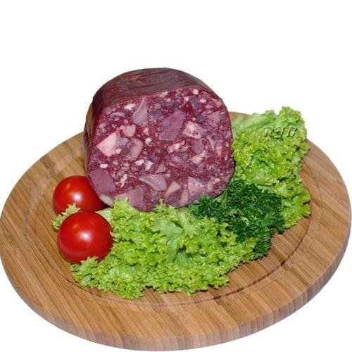 Waldfurter Schlesische rote Presswurst 0,5 Kg