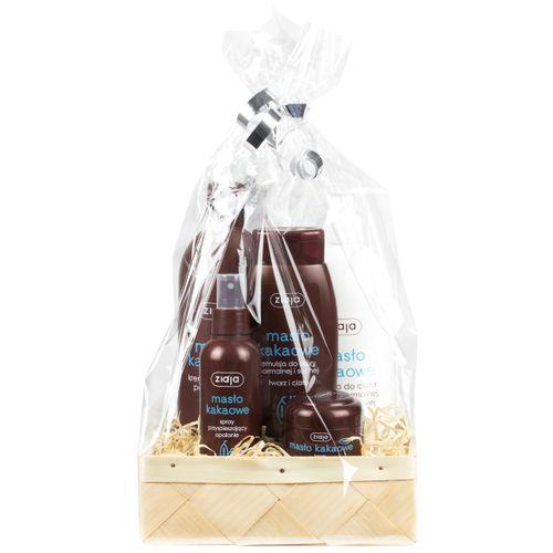 Kakaobutter Pflege-Set als Geschenkkorb - Polnische Kosmetik & Drogerieprodukte von Waldfurt