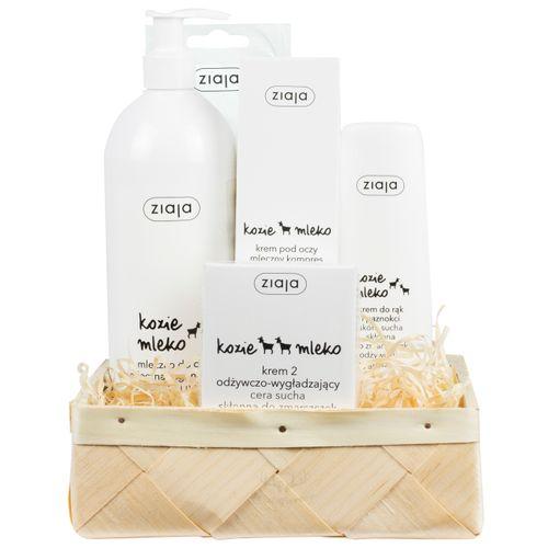 Ziegenmilch Pflege-Set  als Geschenkkorb - Polnische Kosmetik & Drogerieprodukte von Waldfurt - 2