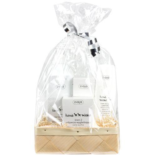 Ziegenmilch Pflege-Set  als Geschenkkorb - Polnische Kosmetik & Drogerieprodukte von Waldfurt