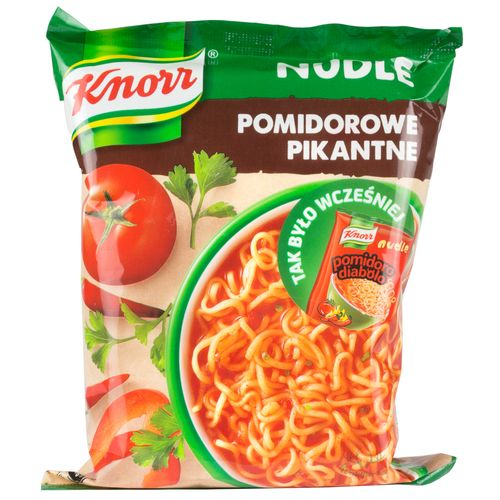 Knorr Nudle - Tomatensuppe scharf 63g