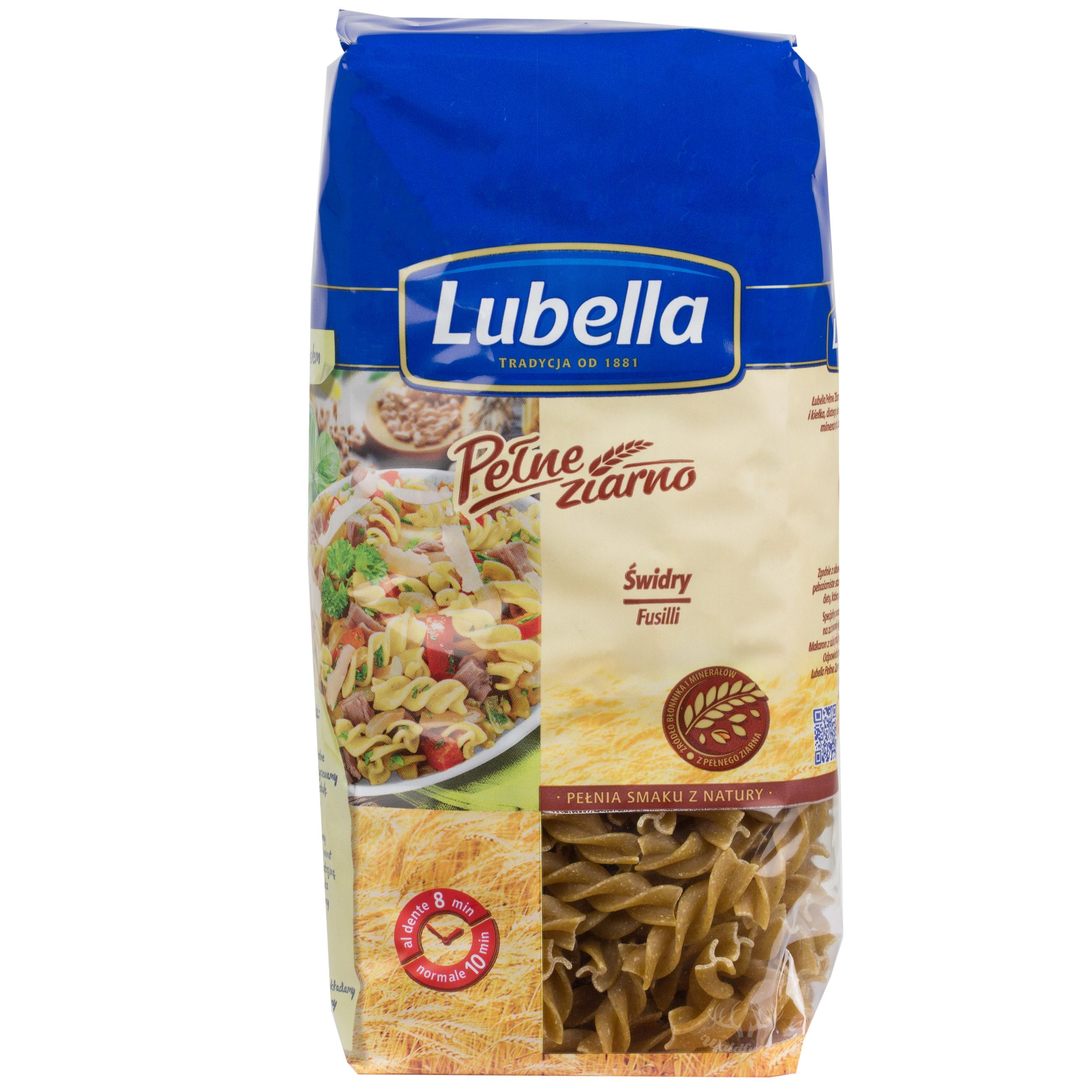 Lubella Vollkornnudeln -Fusilli 400g