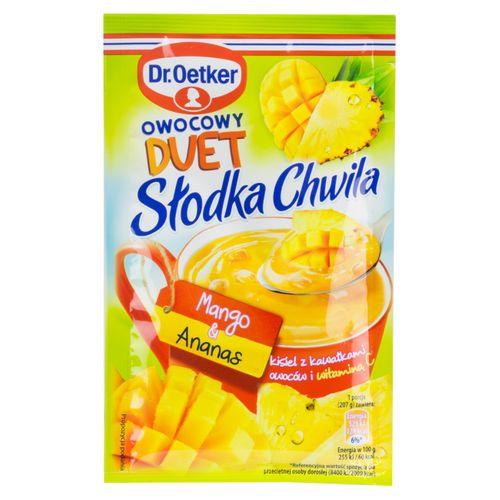 Süßer Moment - Fruchtiger DUET - Gelee mit Mango und Ananasgeschmack 32g von Dr.Oetker