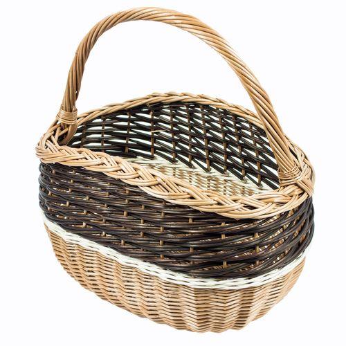 Quarsimodo Korb |  Picknickkorb | B/L/H: 26x42x45cm // Kosz Quarsimodo | Kosz piknikowy