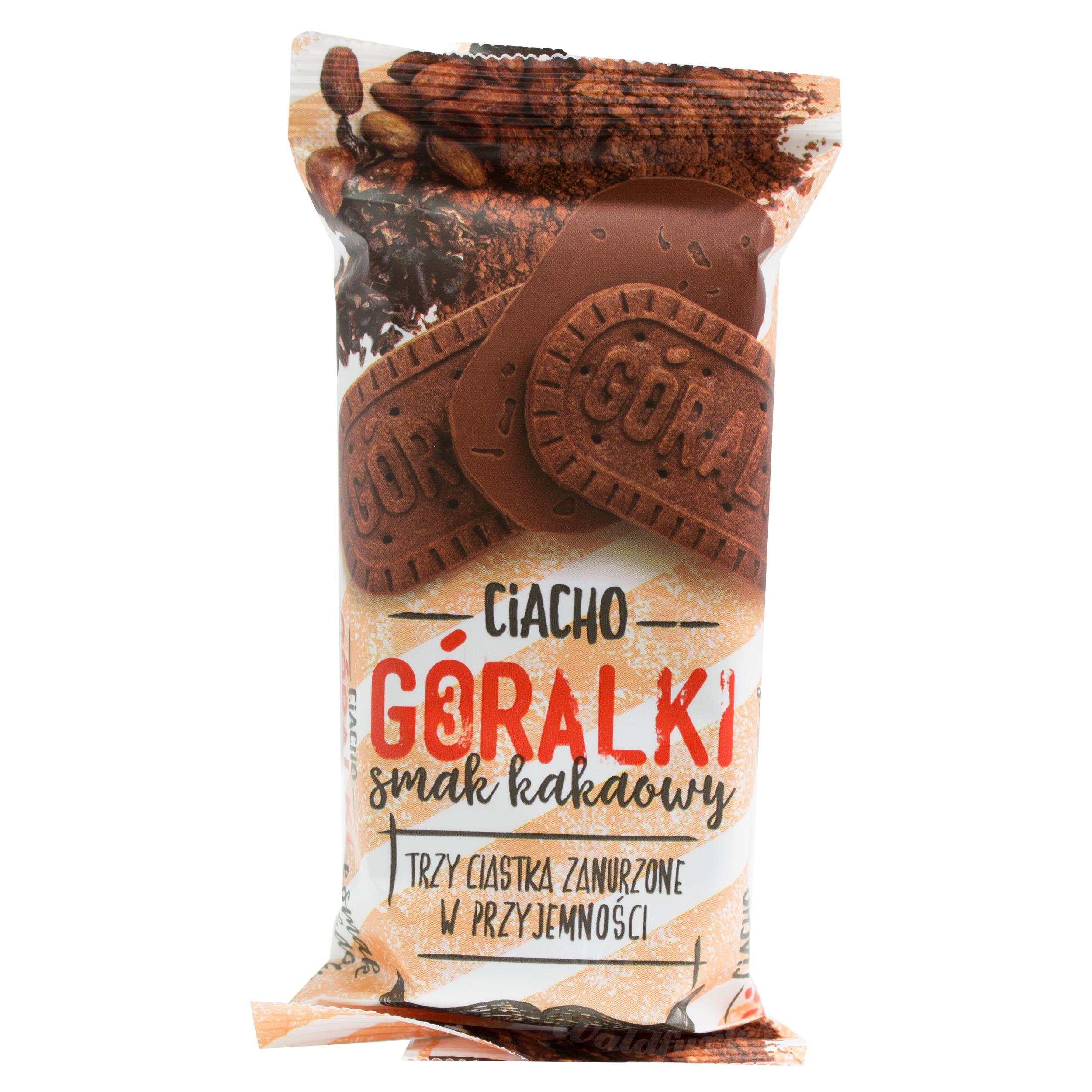 Goralki Kekse mit Kakaogeschmack 38g  //   Goralki Ciacho o smaku kakaowym 38g