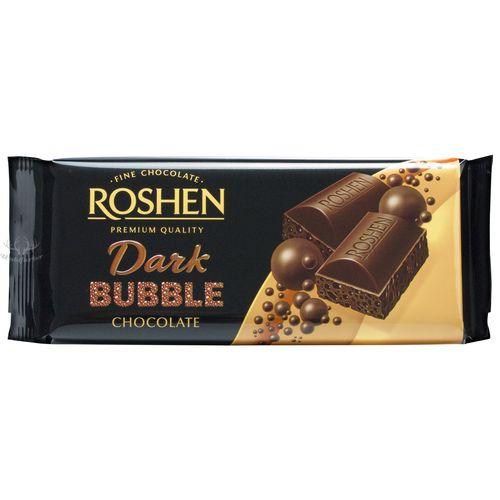 Roshen Extra Bitter Luftschokolade 85g // Roshen Czekolada z babelkami ekstra gorzka 85g