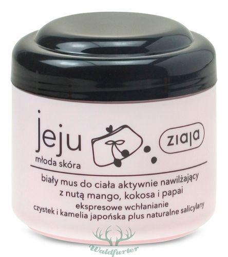 ZIAJA Jeju PINK Weiße Körpercreme mit einem Hauch von Mango, Kokos und Papaya (200 ml)