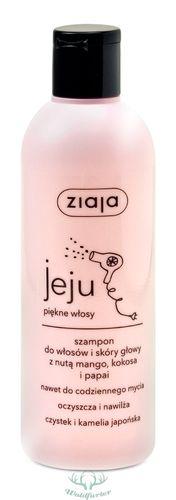 ZIAJA Jeju PINK Shampoo für Haare und Kopfhaut mit einem Hauch von Mango, Kokos und Papaya 300ml